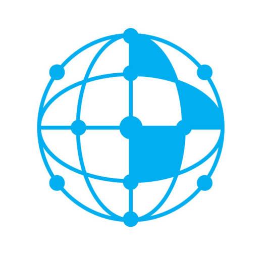 24427480 - network icons set, vector set, blue color theme