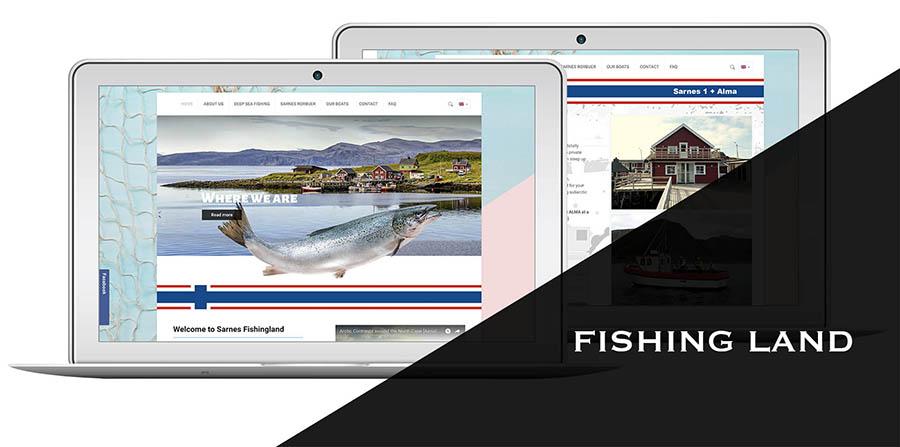 strona internetowa fishing land