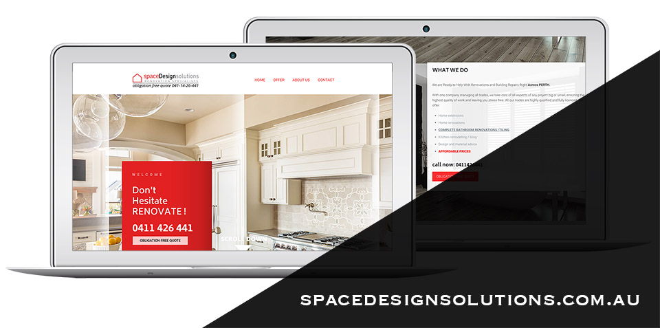 strona internetowa spacedesignsolutions
