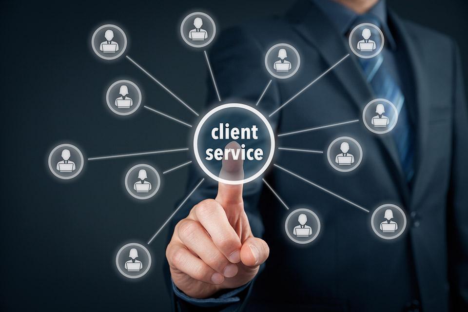 strona internetowa kontakt z klientem